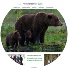 Metsähallituksen vuosikertomus 2016